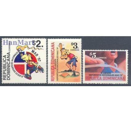 Znaczek Dominikana 1997 Mi 1848-1850 Czyste **