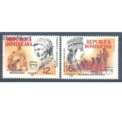 Dominikana 1998 Mi 1904-1905 Czyste **