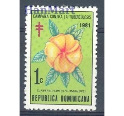 Znaczek Dominikana 1981 Mi zwa 79 Czyste **