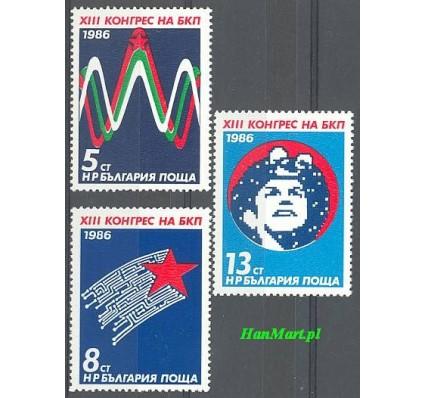 Bułgaria 1986 Mi 3459-3461 Czyste **