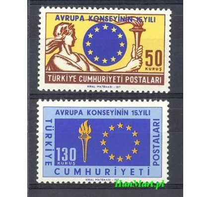 Turcja 1964 Mi 1901-1902 Czyste **