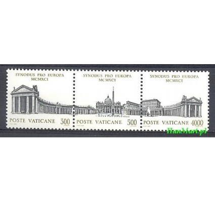 Watykan 1991 Mi 1043-1045 Czyste **