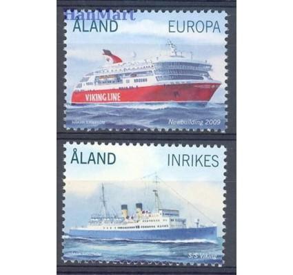 Znaczek Wyspy Alandzkie 2009 Mi 312-313 Czyste **
