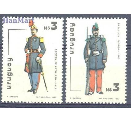 Znaczek Urugwaj 1982 Mi 1647-1648 Czyste **