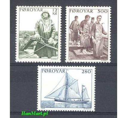Wyspy Owcze 1984 Mi 103-105 Czyste **