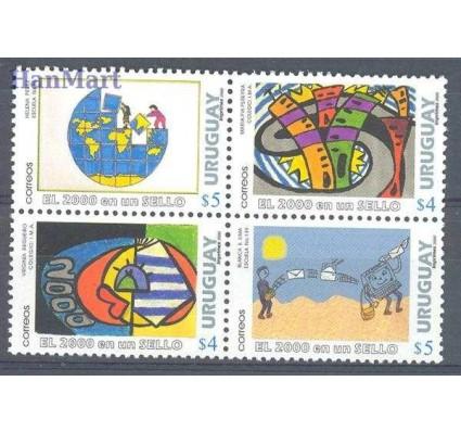 Znaczek Urugwaj 2000 Mi 2538-2541 Czyste **