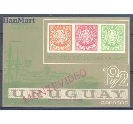 Znaczek Urugwaj 1972 Mi bl 16 Czyste **