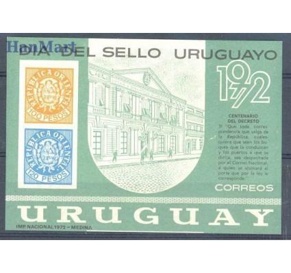 Znaczek Urugwaj 1972 Mi bl 17 Czyste **