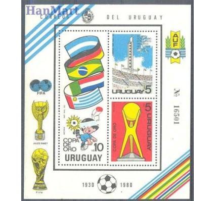 Znaczek Urugwaj 1980 Mi bl 50 Czyste **