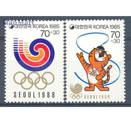 Korea Południowa 1985 Mi 1400-1401 Czyste **