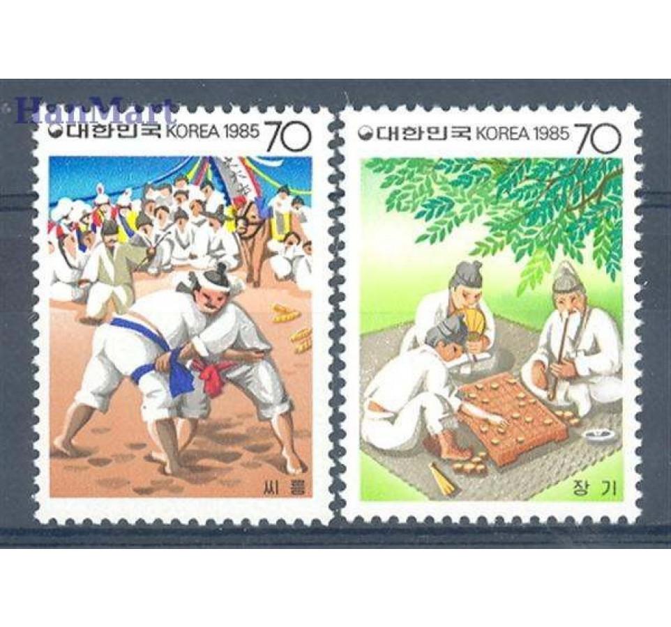 Korea Południowa 1985 Mi 1417-1418 Czyste **
