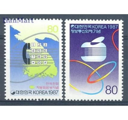 Korea Południowa 1987 Mi 1525-1526 Czyste **