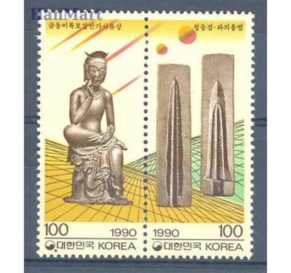 Znaczek Korea Południowa 1990 Mi 1617-1618 Czyste **