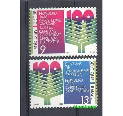Znaczek Belgia 1986 Mi 2290-2291 Czyste **