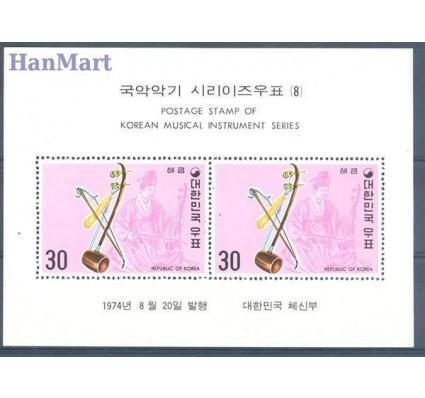 Znaczek Korea Południowa 1974 Mi bl 388 Czyste **