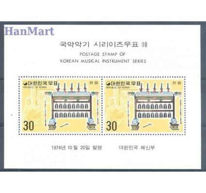Znaczek Korea Południowa 1974 Mi bl 395 Czyste **