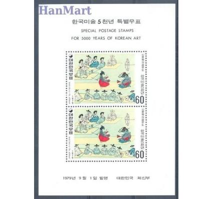 Znaczek Korea Południowa 1979 Mi bl 435 Czyste **