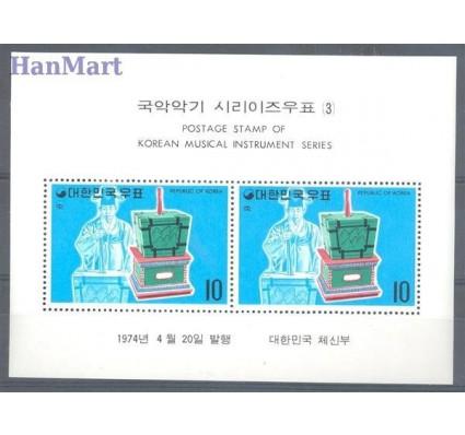 Znaczek Korea Południowa 1974 Mi bl 379 Czyste **