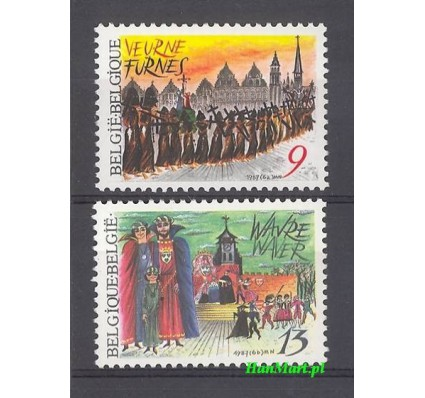 Belgia 1987 Mi 2301-2302 Czyste **
