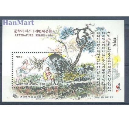 Znaczek Korea Południowa 1998 Mi bl 655 Czyste **