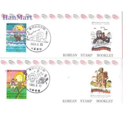 Znaczek Korea Południowa 1993 Mi 1755-1756 Czyste **