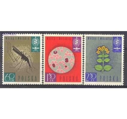 Znaczek Polska 1962 Mi 1346-1348 Fi 1198-1200 Czyste **