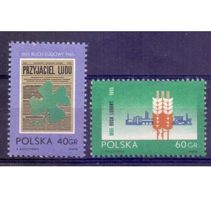 Znaczek Polska 1965 Mi 1585-1586 Fi 1436-1437 Czyste **