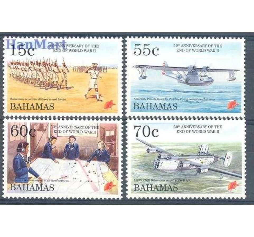 Bahamy 1995 Mi 861-864 Czyste **