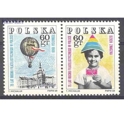 Znaczek Polska 1968 Mi 1852-1853 Fi 1705-1706 Czyste **