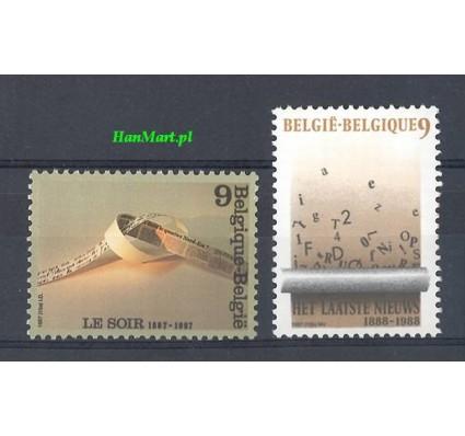 Belgia 1987 Mi 2323-2324 Czyste **