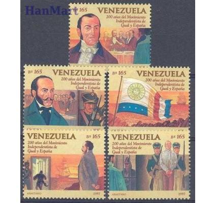 Znaczek Wenezuela 1997 Mi 3085-3089 Czyste **