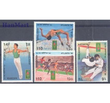 Znaczek Bangladesz 1996 Mi 576-579 Czyste **