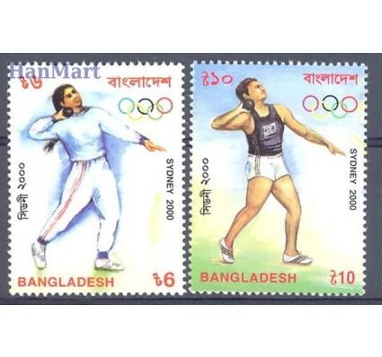 Znaczek Bangladesz 2000 Mi 738-739 Czyste **