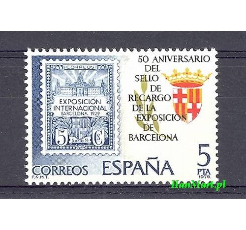 Hiszpania 1979 Mi 2441 Czyste **