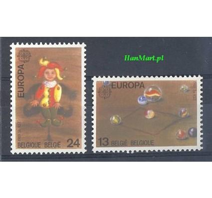 Belgia 1989 Mi 2375-2376 Czyste **