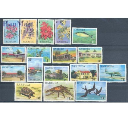 Znaczek Antigua i Barbuda 1974 Mi 185-201 Czyste **