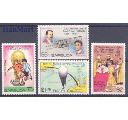 Znaczek Antigua i Barbuda 1978 Mi 430-433 Czyste **