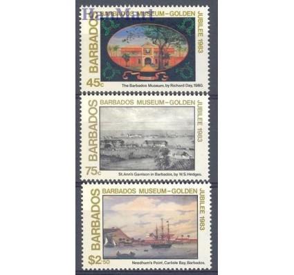 Znaczek Barbados 1983 Mi 594-596 Czyste **