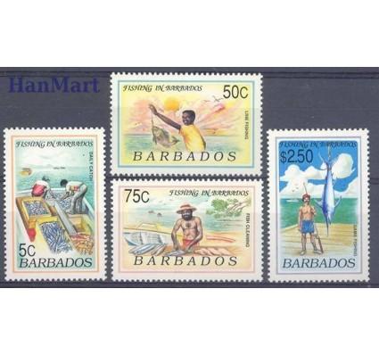 Barbados 1991 Mi 774-777 Czyste **