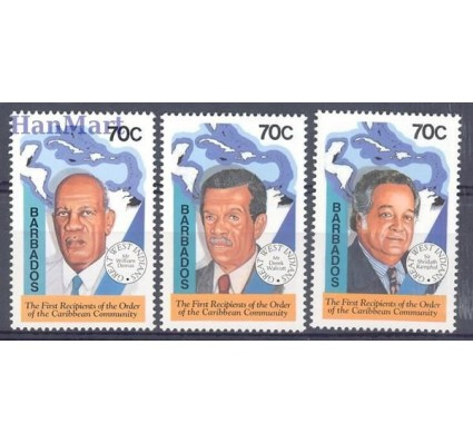 Znaczek Barbados 1994 Mi 853-855 Czyste **