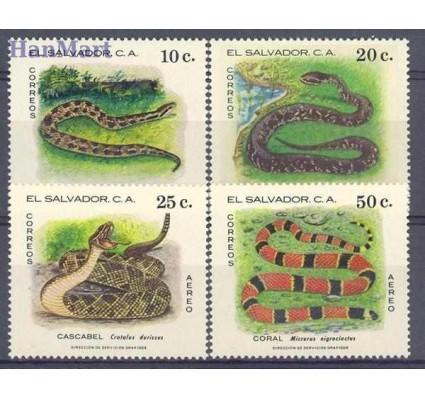Znaczek Salwador 1980 Mi 1326-1329 Czyste **