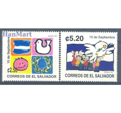 Znaczek Salwador 1997 Mi 2062-2063 Czyste **