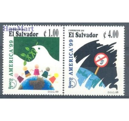 Znaczek Salwador 1999 Mi 2171-2172 Czyste **