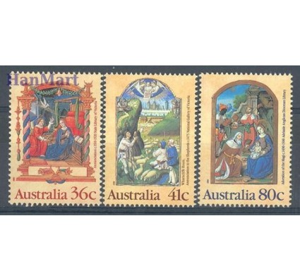 Znaczek Australia 1989 Mi 1177-1179 Czyste **