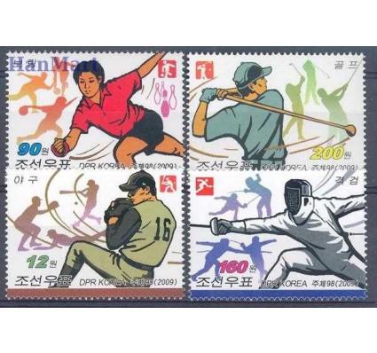 Znaczek Korea Północna 2009 Mi 5429-5432 Czyste **