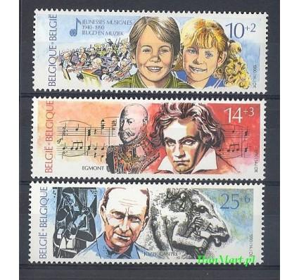 Belgia 1990 Mi 2439-2441 Czyste **