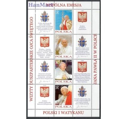 Znaczek Polska 2004 Mi ark 4109-4116 Fi bl 188-189 Czyste **
