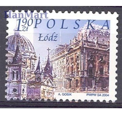 Znaczek Polska 2004 Mi 4108 Fi 3958 Czyste **