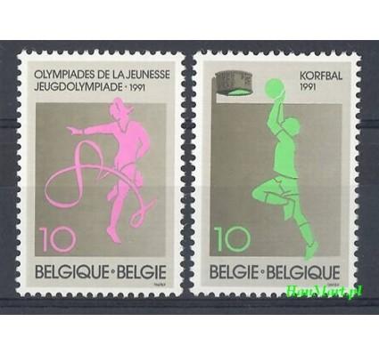 Belgia 1991 Mi 2454-2455 Czyste **