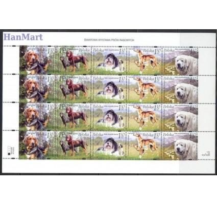 Znaczek Polska 2006 Mi ark 4289-4293 Fi ark 4126-4130 Czyste **